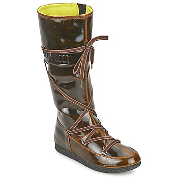 Sapatos Mulher Botas de neve Moon Boot MB 7TH AVENUE Bronze