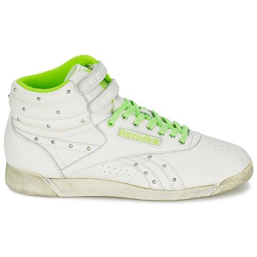 Reebok Sport F/S HI Branco - Entrega gratuita  - Sapatos Sapatilhas de cano-alto Mulher 8240