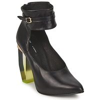 Sapatos Mulher Escarpim Miista CRISTAL Preto