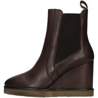 Sapatos Mulher Botins Café Noir C1GC1230 Castanho