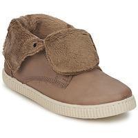 Sapatos Rapariga Sapatilhas de cano-alto Chipie SABRINA Bege