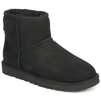 Sapatos Mulher Botas baixas UGG W CLASSIC MINI Preto