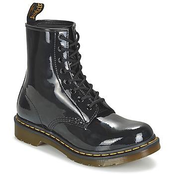 Sapatos Mulher Botas baixas Dr Martens 1460 W Preto