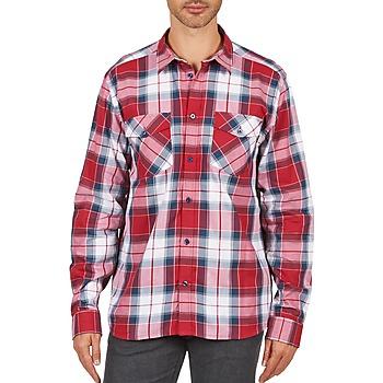 Textil Homem Camisas mangas comprida Wesc JOEY Vermelho
