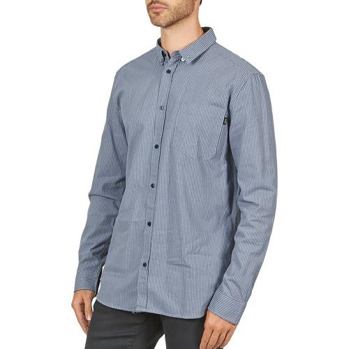 YANIK  Wesc  camisas mangas comprida  homem  azul