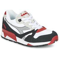 Sapatos Sapatilhas Diadora N9000  NYL Branco / Preto / Vermelho