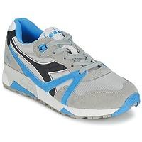 Sapatos Sapatilhas Diadora N9000  NYL Cinza / Azul / Preto
