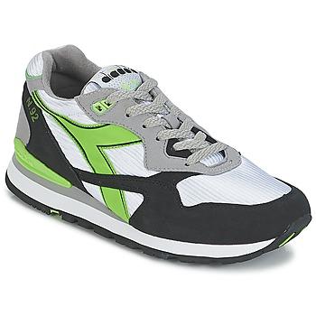 Sapatos Sapatilhas Diadora N-92 Branco / Preto / Verde