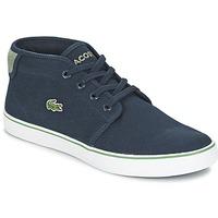 Sapatos Rapaz Sapatilhas de cano-alto Lacoste AMPTHILL 116 2 Marinho