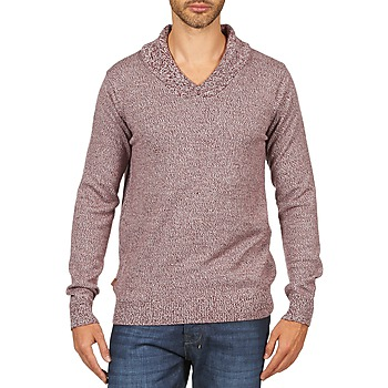 Textil Homem camisolas Kulte PULL CHARLES 101823 ROUGE Vermelho