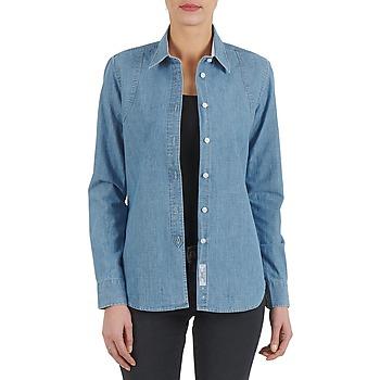 Textil Mulher camisas Kulte CHEMISE CIRCUIT 101826 BLEACH Azul
