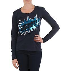Textil Mulher T-shirt mangas compridas Brigitte Bardot BB43130 Azul