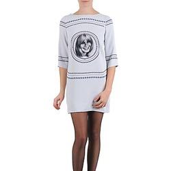 Textil Mulher Vestidos curtos Brigitte Bardot BB43121 Cinza