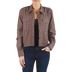 Textil Mulher camisas Brigitte Bardot BB43077 Castanho