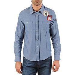 Textil Homem Camisas mangas comprida Mr Marcel NEBRASKA Azul