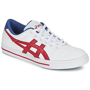 Sapatos Sapatilhas Asics AARON Branco / Vermelho