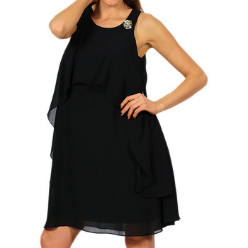 Textil Mulher Vestidos curtos Kocca Vestido Dwenty Preto