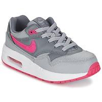 Sapatos Rapariga Sapatilhas Nike AIR MAX 1 CADET Cinza / Rosa