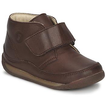 Sapatos Rapaz Botas baixas Naturino  Castanho