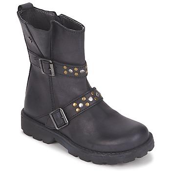 Sapatos Rapariga Botas baixas Naturino  Preto