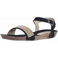 Sapatos Mulher Sandálias Tiziana PETRA Preto