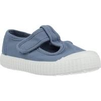 Sapatos Rapaz Sapatilhas Victoria 136625 Azul
