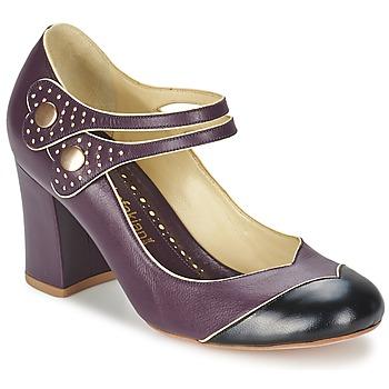 Sapatos Mulher Escarpim Sarah Chofakian ZUT Bordô / Preto