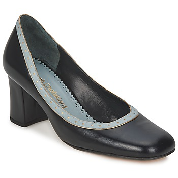 Sapatos Mulher Escarpim Sarah Chofakian SHOE HAT Preto / Azul / Claro