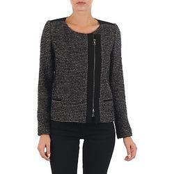 Textil Mulher Casacos/Blazers Lola VIE LUREX Preto / Bege