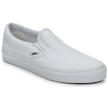 Sapatos Slip on Vans CLASSIC SLIP ON Branco