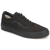 Sapatos Sapatilhas Vans OLD SKOOL Preto / Preto