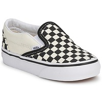 Sapatos Criança Slip on Vans CLASSIC SLIP ON KIDS Preto / Branco