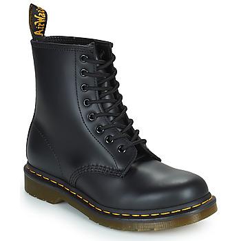 Sapatos Botas baixas Dr Martens 1460 8 EYE BOOT Preto