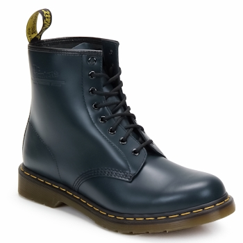 Sapatos Botins Dr Martens 1460 8 EYE BOOT Azul