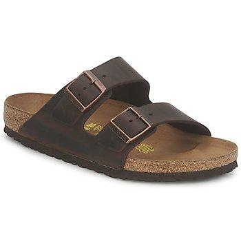 Sapatos Homem Chinelos Birkenstock MENS ARIZONA Havana