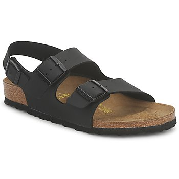 Sapatos Sandálias Birkenstock MENS MILANO Preto