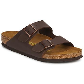 Sapatos Chinelos Birkenstock ARIZONA Castanho / Escuro