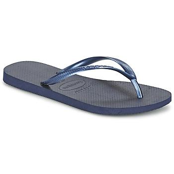 Sapatos Mulher Chinelos Havaianas SLIM Marinho