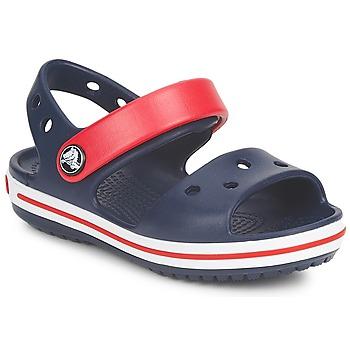Sapatos Criança Sandálias Crocs CROCBAND SANDAL Marinho / Vermelho