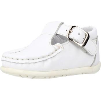 Sapatos Rapaz Mocassins Landos 27848 Branco