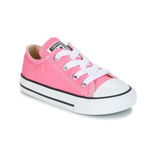Sapatos Rapariga Sapatilhas Converse CHUCK TAYLOR ALL STAR CORE OX Rosa