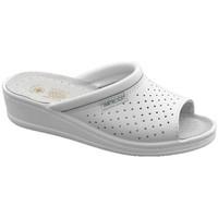 Sapatos Homem Chinelos Sanital  Branco