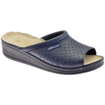 Sapatos Homem Chinelos Sanital  Azul