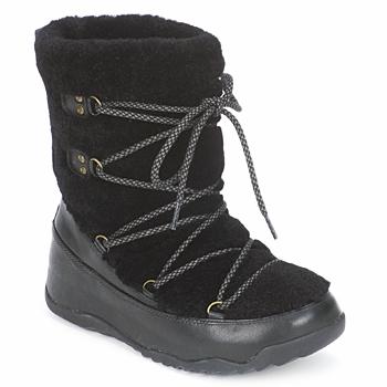 Sapatos Mulher Botas de neve FitFlop SUPERBLIZZ Preto