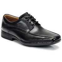 Sapatos Homem Sapatos Clarks FRANCIS Preto