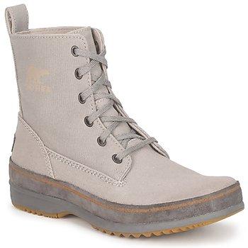 Sapatos Homem Botas baixas Sorel  Cinza
