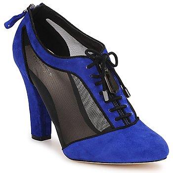 Sapatos Mulher Botas baixas Bourne PHEOBE Azul