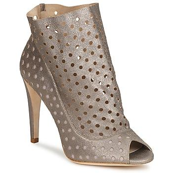 Sapatos Mulher Botins Bourne RITA Prata