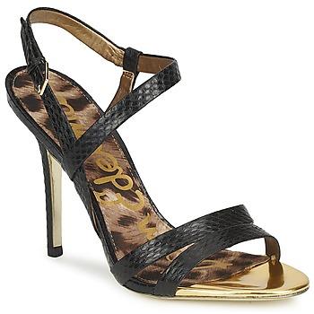 Sapatos Mulher Sandálias Sam Edelman ABBOTT Preto / Cobra