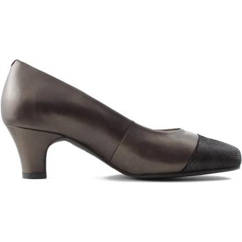 Sapatos Mulher Escarpim Drucker Calzapedic Y ANCHO MARRON